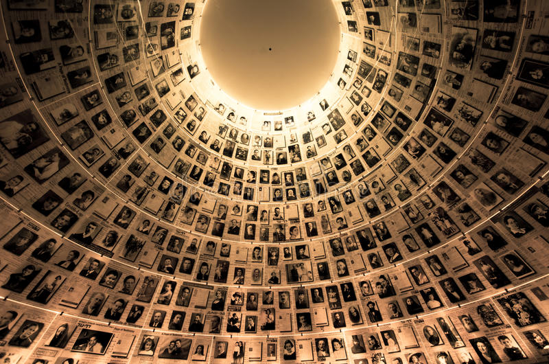 Yad Vashem - Holocaust History Museum in Jerusalem Israel. Yad Vashem in Jerusalem,Israel.It's a world center for Holocaust research, documentation, education stock photo