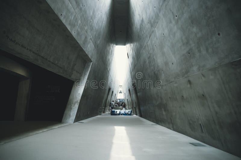 Yad Vashem - mémorial national israélien de l'holocauste et du héroisme consacrés à la mémoire du génocide des personnes juives photographie stock