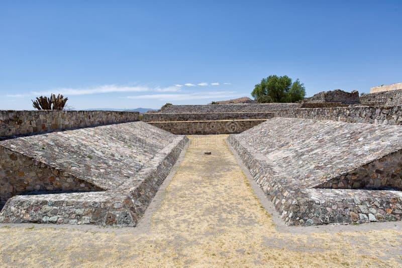 Yagul废墟在瓦哈卡墨西哥 免版税库存图片