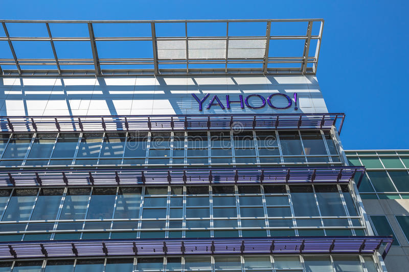 Yahoo Headquarters Sunnyvale stockfoto