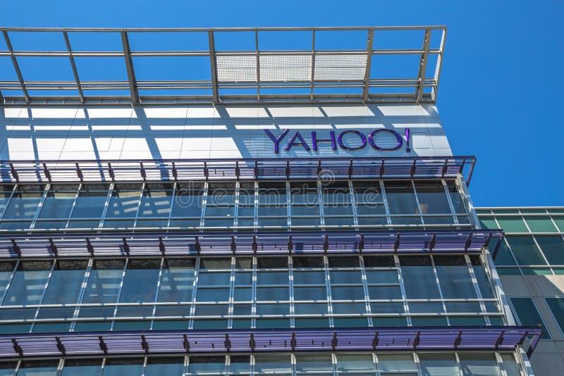 Yahoo Headquarters Sunnyvale fotografia stock