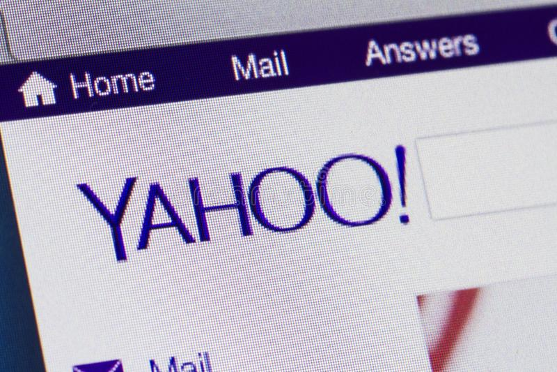 Yahoo stock image