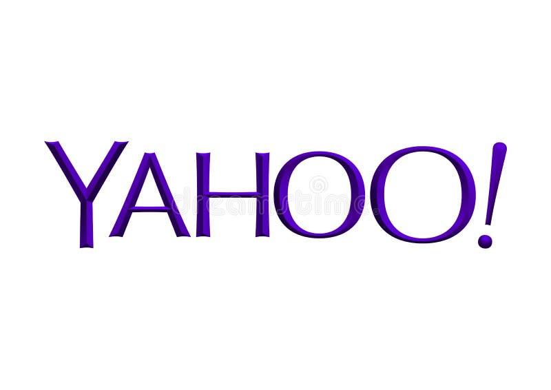 Yahoo logo ilustracja wektor