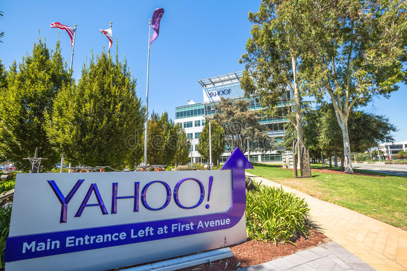 Yahoo Silicon Valley stock foto