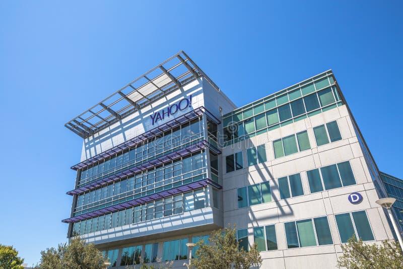 Yahoo Sunnyvale California immagine stock libera da diritti