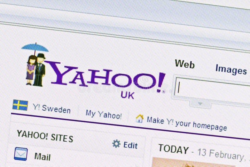 Yahoo website stock photos