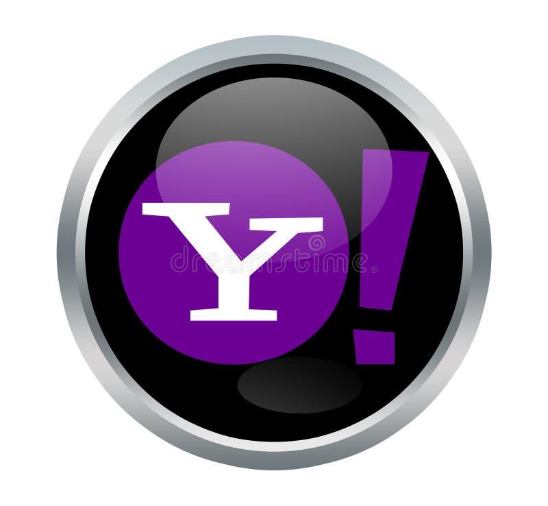 Yahoo znaki royalty ilustracja