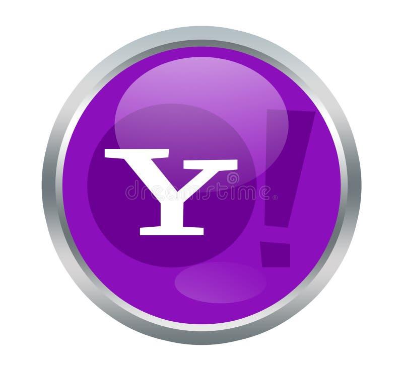 Yahoo znaki ilustracja wektor