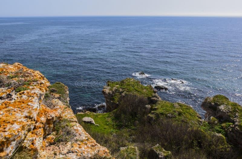 Yailata расположено 2 km к югу от Kamen Briag и 18 km к северо-востоку от Kavarna стоковое изображение rf