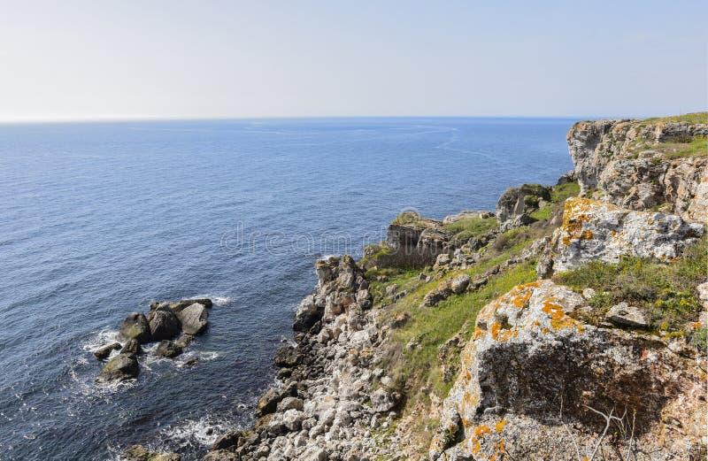 Yailata расположено 2 km к югу от Kamen Briag и 18 km к северо-востоку от Kavarna стоковое фото rf