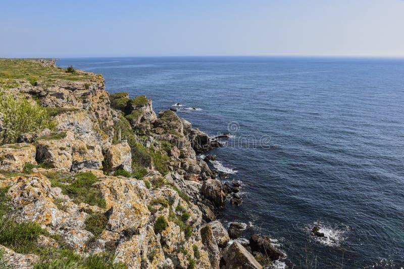 Yailata расположено 2 km к югу от Kamen Briag и 18 km к северо-востоку от Kavarna стоковая фотография rf