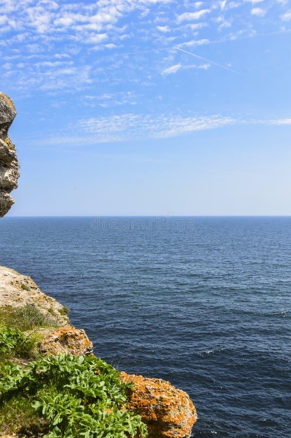 Yailata расположено 2 km к югу от Kamen Briag и 18 km к северо-востоку от Kavarna стоковые изображения
