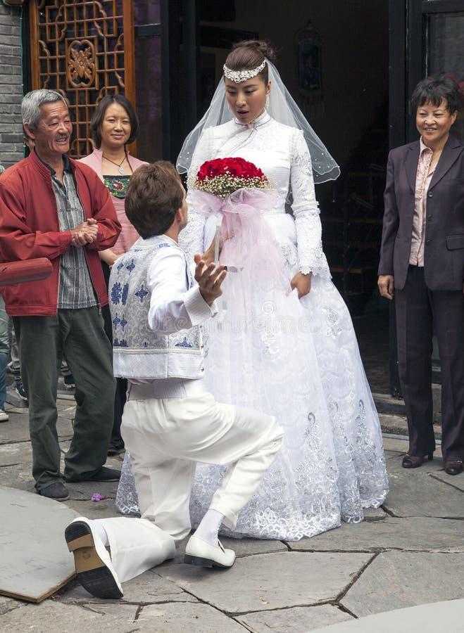 yajie wang китайца актрисы установленное стоковое фото