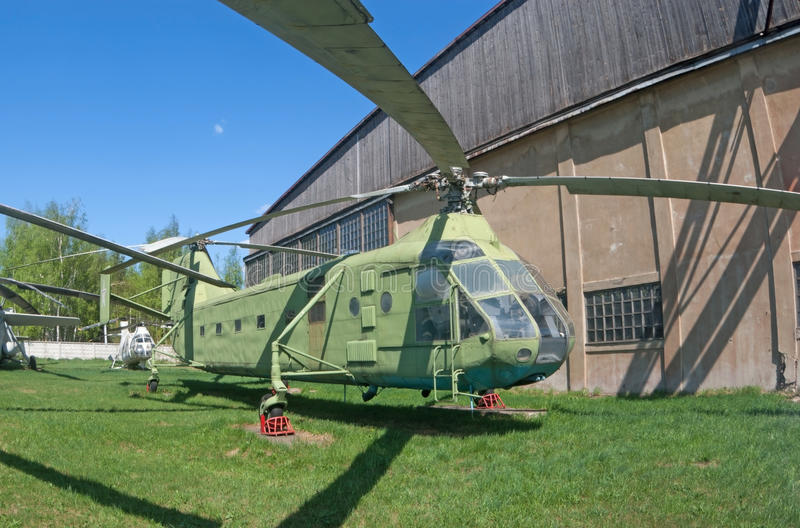 Download Yak-24 helicopter stock photo. Image of rotor, soviet - 21834916