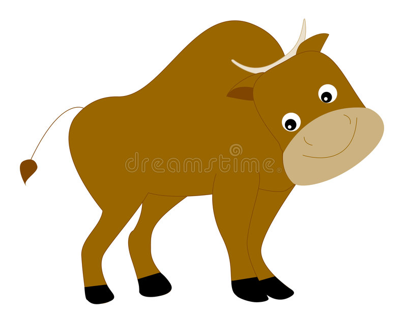 Download Yak stock vector. Image of coldness, cuteness, cute, design - 8436626
