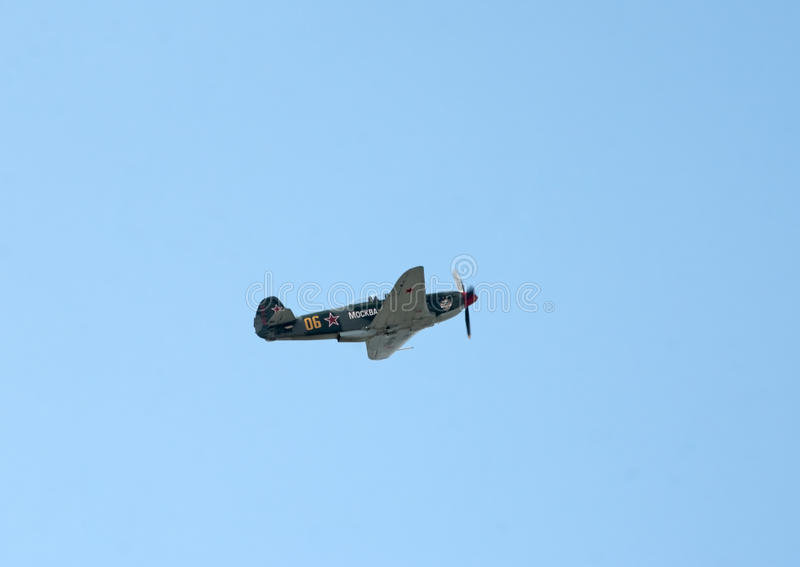 Download Yak-9UM Fighter Flies Editorial Photography - Image: 26987577