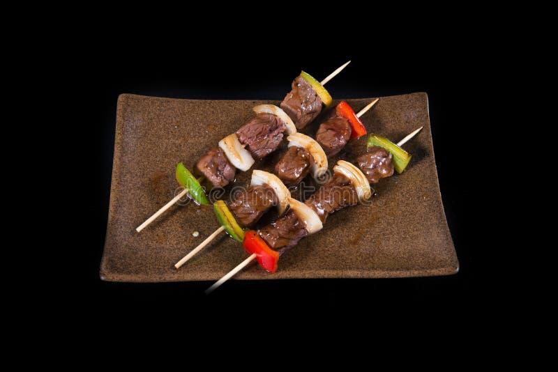 Yaki giapponese dei tori dell'alimento fotografia stock