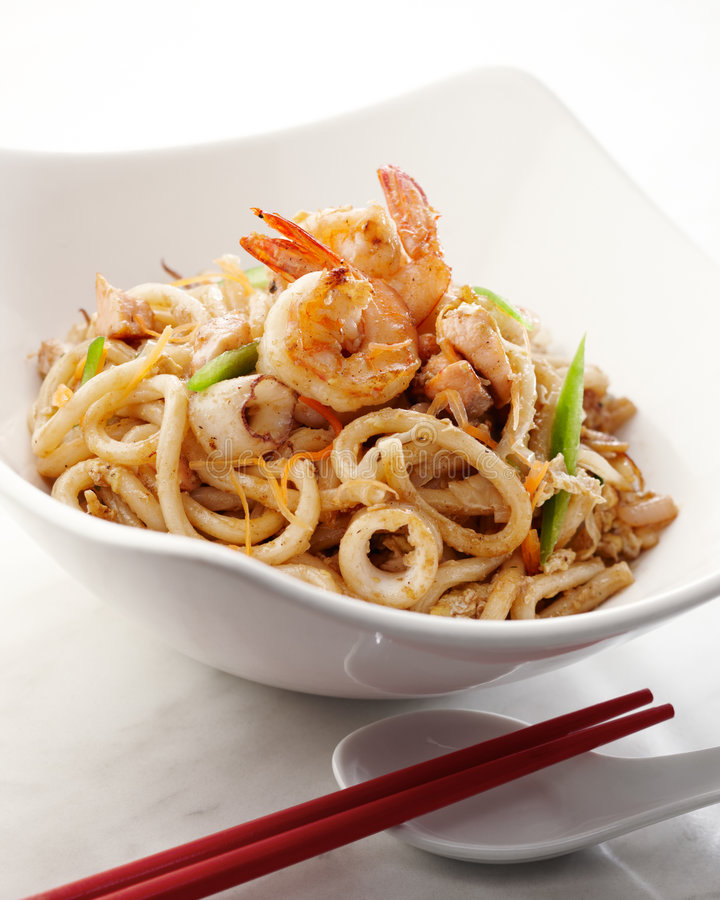 Free Yaki Udon Royalty Free Stock Images - 9053459