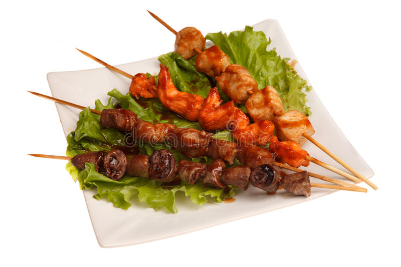 Yakitori photo stock