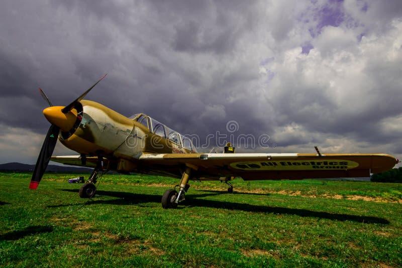 Yakovlev Yak-52 immagine stock libera da diritti