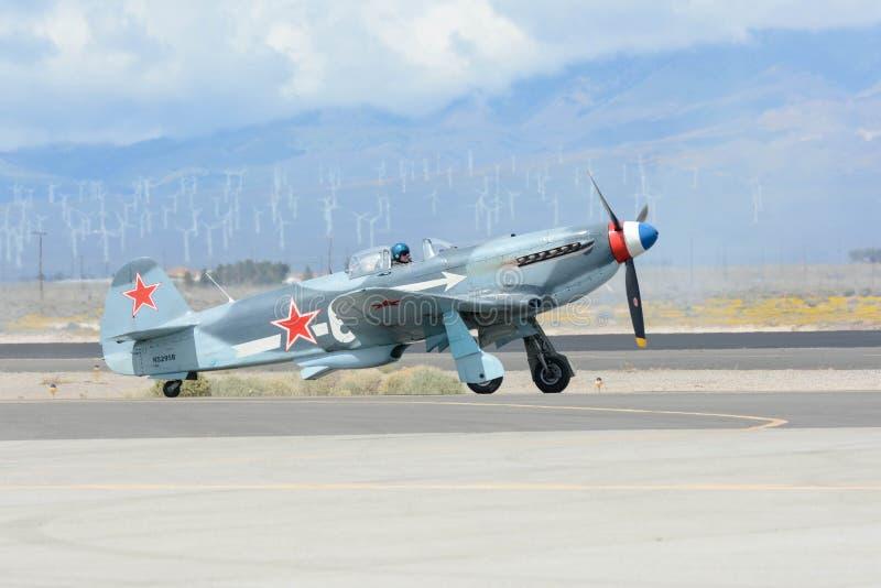 Yakovlev Yak-3 na pokazie zdjęcie royalty free