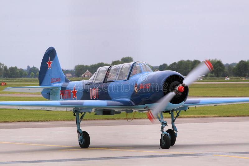 Download Yakovlev Yak-52 Russian Airplane Editorial Stock Photo - Image: 31549883