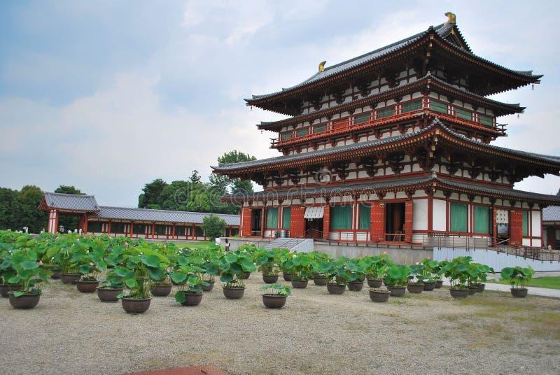 Yakushi寺庙在日本 免版税库存照片