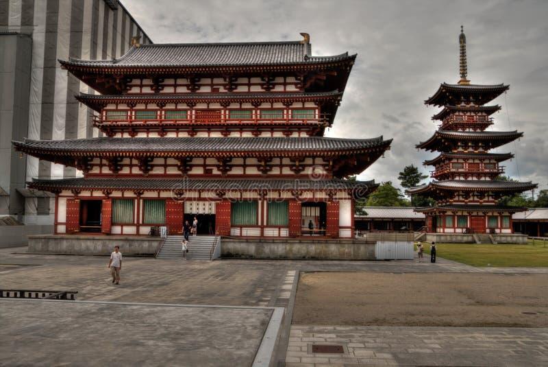 Yakushi-JI est un temple religieux dans Nara Prefecture du Japon image stock