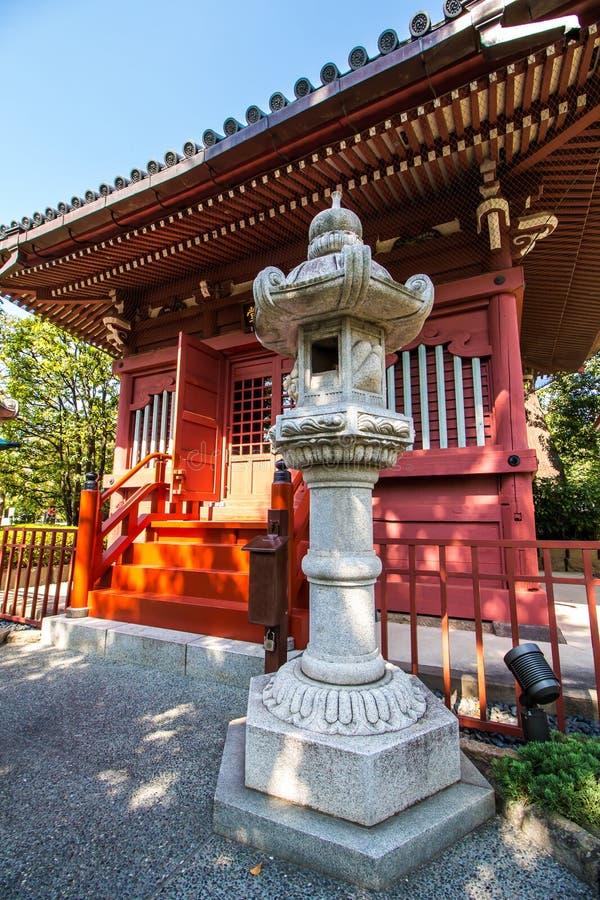 Yakushido Hall на виске Senso-Ji в токио, Японии стоковая фотография rf