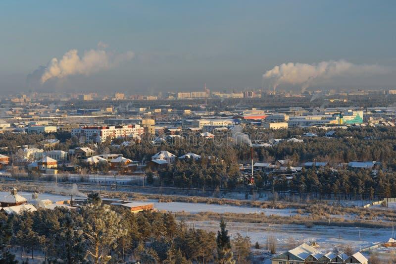 yakutsk Сибирь Россия стоковые фото