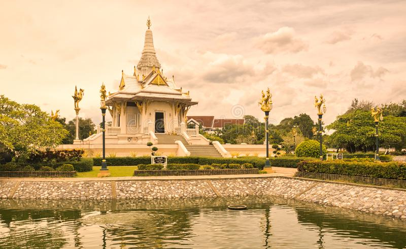 Yala miasta filaru świątynia, południe Tajlandia fotografia stock