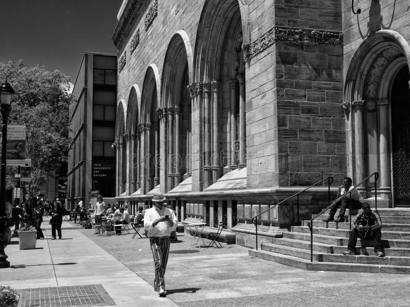 Yale Art Gallery June exterior 2013 imagem de stock