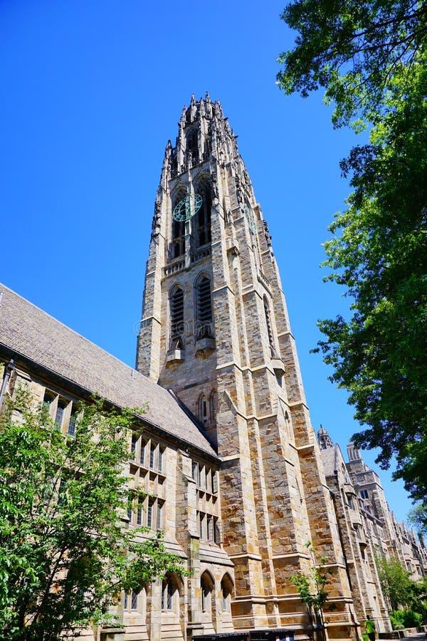 Yale Campus-Gebäude stockfoto