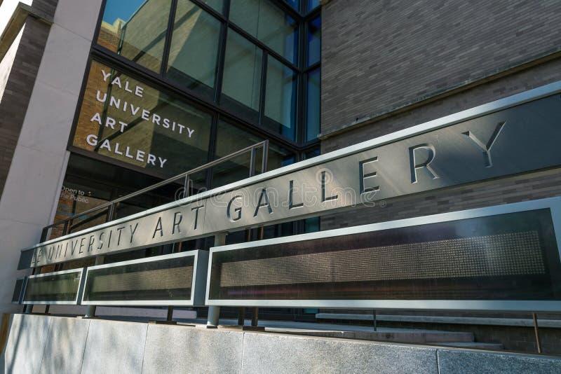 Yale University Art Gallery fotos de archivo