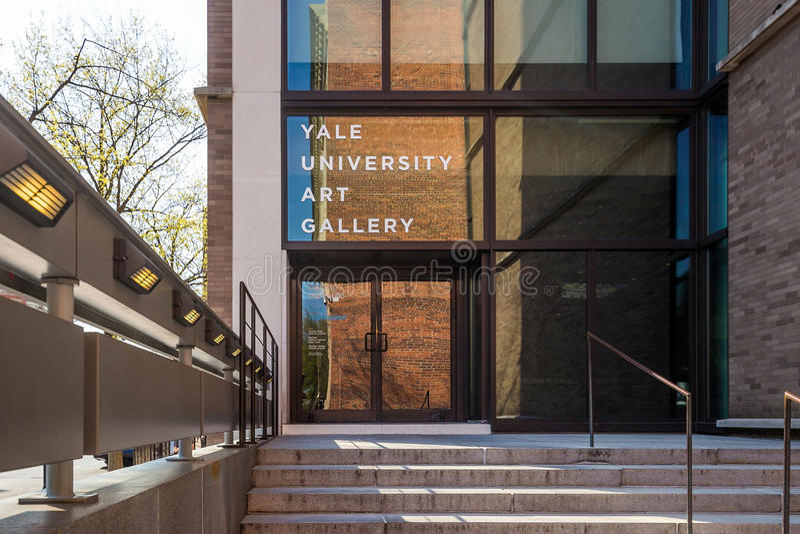 Yale University Art Gallery imágenes de archivo libres de regalías