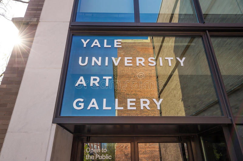 Yale University Art Gallery fotos de archivo