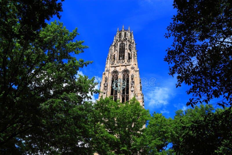 Yale University Church photographie stock