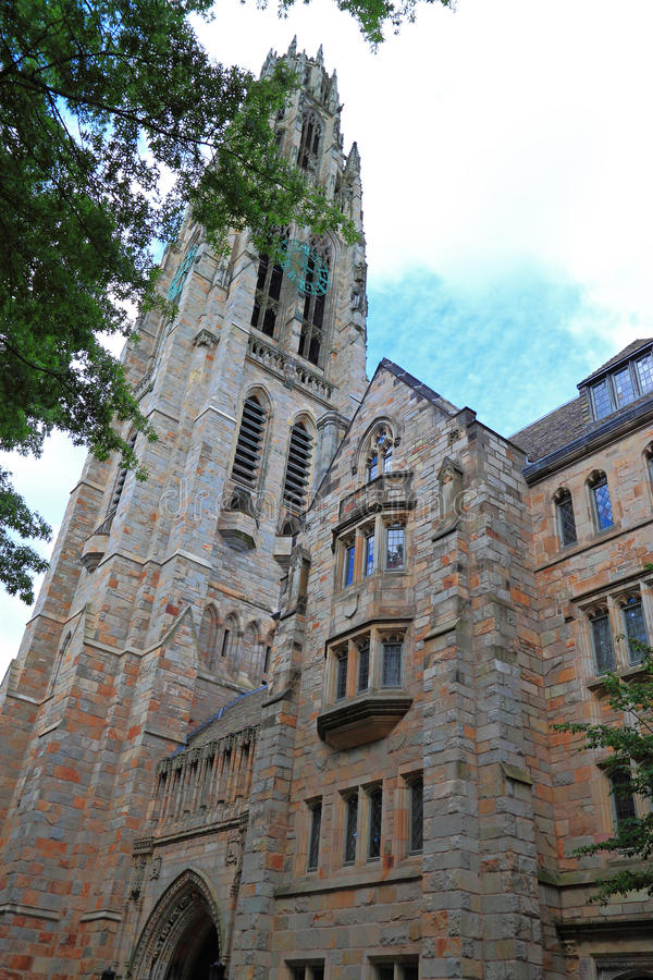 Yale University Church New Haven arkivfoto