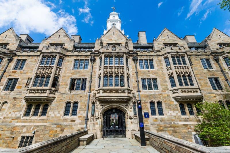 Yale University i New Haven Connecticut arkivfoto
