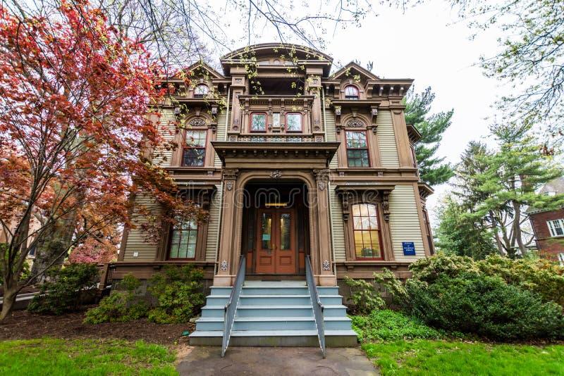 Yale University i New Haven Connecticut royaltyfri fotografi
