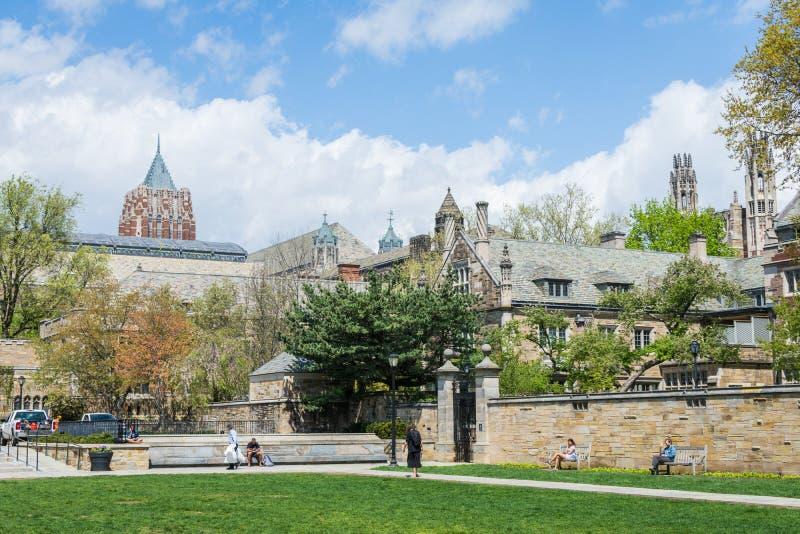 Yale University in New-Haven Connecticut stockbild