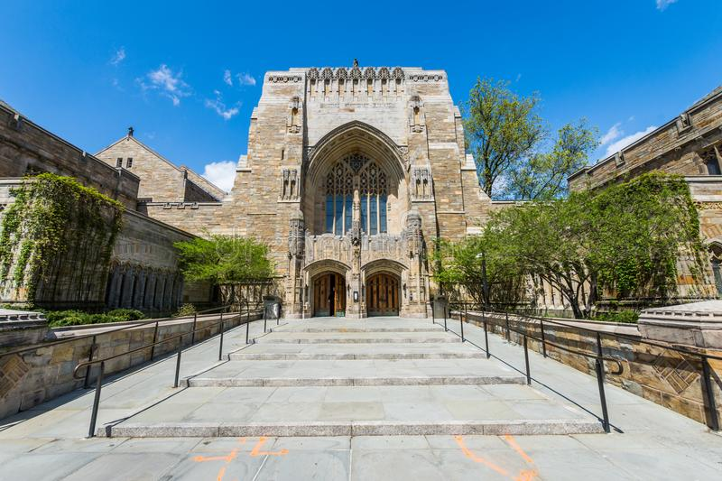 Yale University in New-Haven Connecticut stockfoto