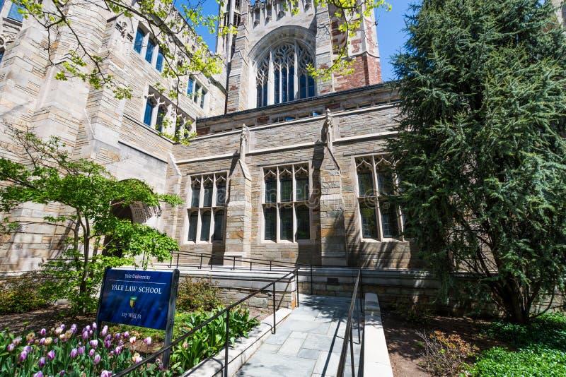 Yale University in New-Haven Connecticut lizenzfreie stockfotos