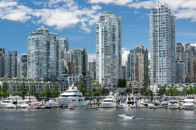 Yaletown, Vancouver immagine stock libera da diritti