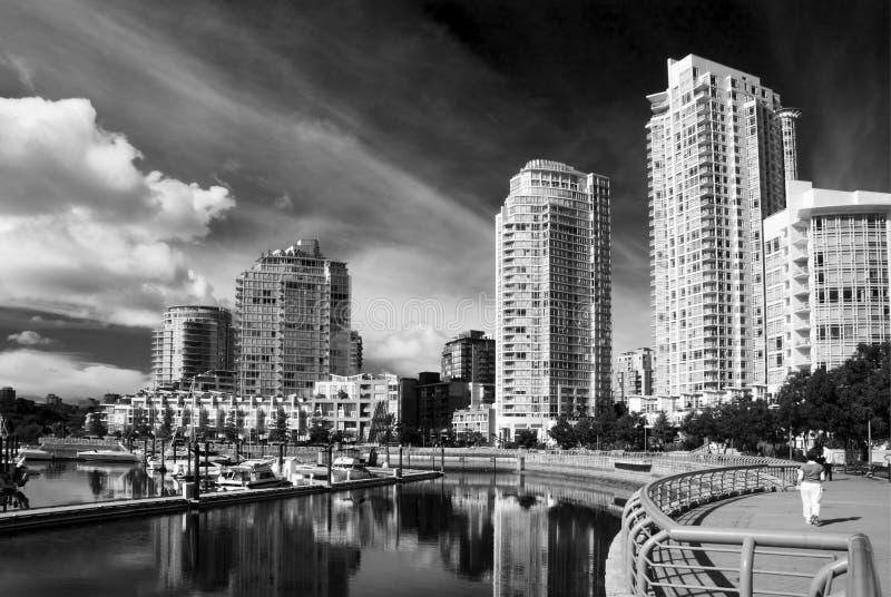Yaletown, Vancouver fotos de archivo