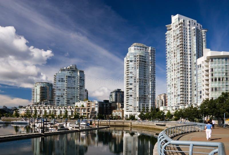 Yaletown, Vancouver foto de archivo