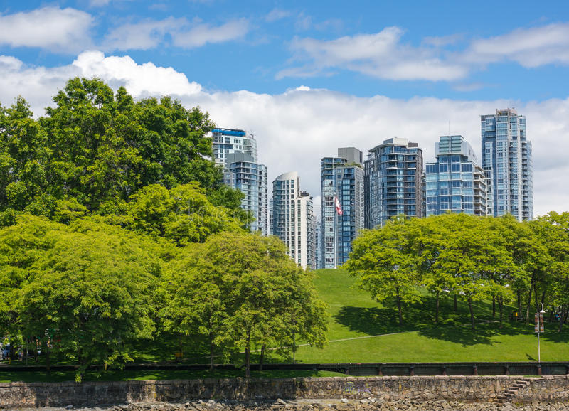 Yaletown, Vancouver stock photo