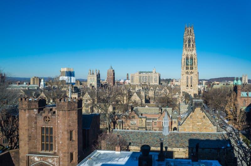 Yaleuniversiteit royalty-vrije stock fotografie
