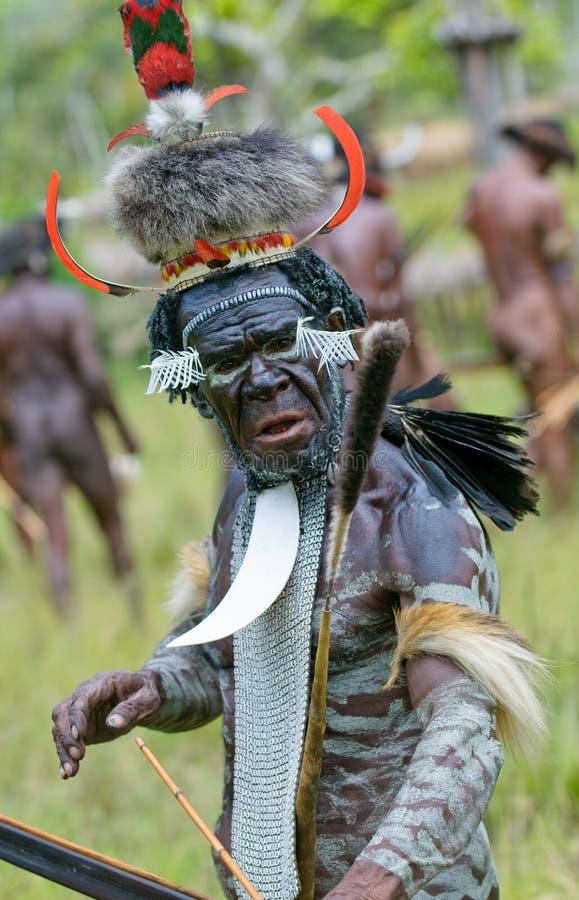 Free Yali Mabel, Chief Of Dani Tribe, Papua, Indonesia Stock Photo - 9342500