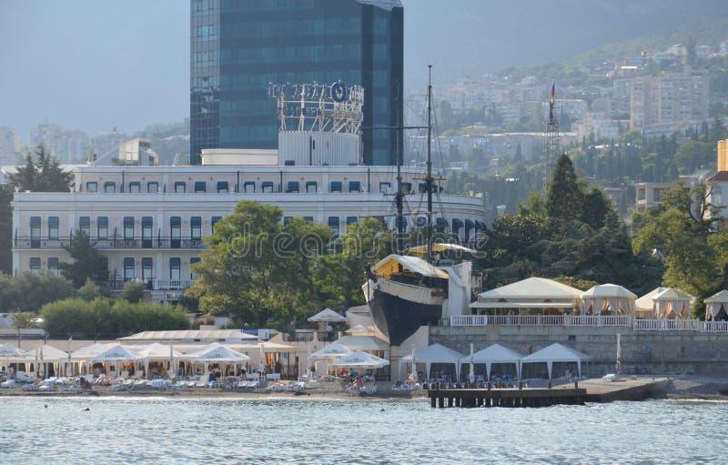 yalta CRIMEA - 15 de abril de 2016 imagen de archivo libre de regalías